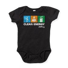 Cute Renewable energy Baby Bodysuit