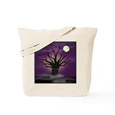 Glaring Tree Halloween Bag