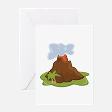 Volcano Greeting Cards