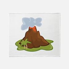 Volcano Throw Blanket