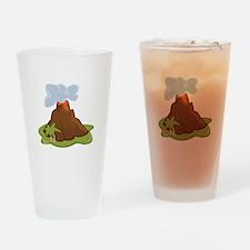 Volcano Drinking Glass