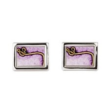 Ebola Rectangular Cufflinks