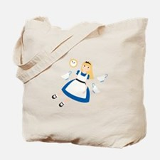 Curiouser Alice Tote Bag