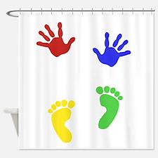Unique Baby shower mom Shower Curtain