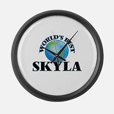 World's Best Skyla Large Wall Clock