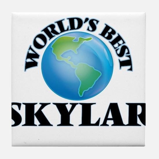 World's Best Skylar Tile Coaster