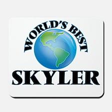 World's Best Skyler Mousepad
