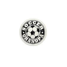 Soccer Grandpa Mini Button