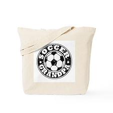 Soccer Grandpa Tote Bag