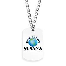 World's Best Susana Dog Tags