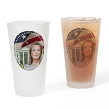 Hillary Clinton 2016 Drinking Glass