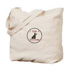 Funny Towing Tote Bag