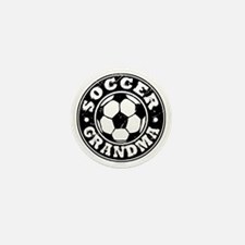 Soccer Grandma Mini Button
