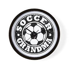 Soccer Grandma Wall Clock