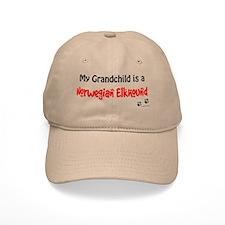 Elkhound Grandchild Baseball Baseball Cap