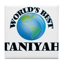 World's Best Taniyah Tile Coaster