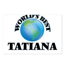 World's Best Tatiana Postcards (Package of 8)