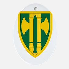 18th MP Brigade.png Ornament (Oval)