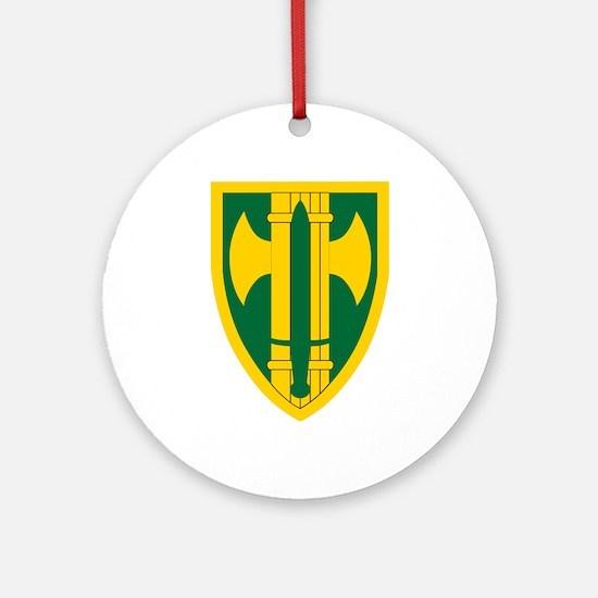 18th MP Brigade.png Ornament (Round)