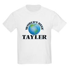 World's Best Tayler T-Shirt