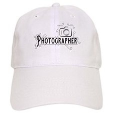 Photographer Baseball Cap