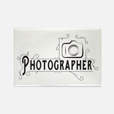Photographer Rectangle Magnet (100 pack)