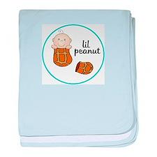 Cute Peanut baby blanket