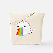 Rainbow Spit Tote Bag