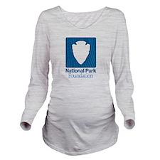 Npf Logo Long Sleeve Maternity T-Shirt