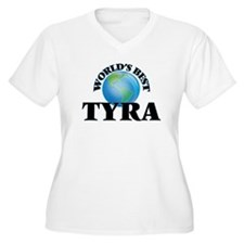World's Best Tyra Plus Size T-Shirt