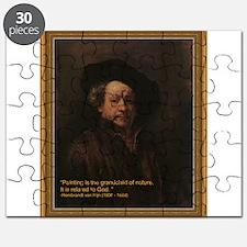 Rembrandt van Rijn Puzzle