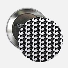 """Black and White Dachshund W 2.25"""" Button (10 pack)"""
