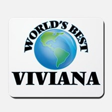 World's Best Viviana Mousepad