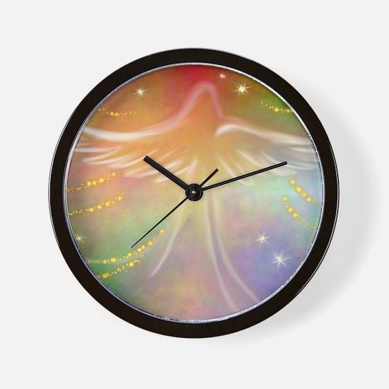 Spirit Angel Wall Clock