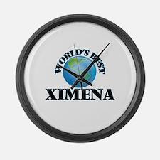 World's Best Ximena Large Wall Clock