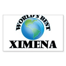 World's Best Ximena Decal