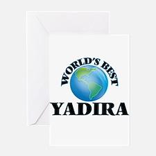 World's Best Yadira Greeting Cards