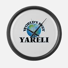 World's Best Yareli Large Wall Clock