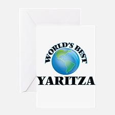 World's Best Yaritza Greeting Cards