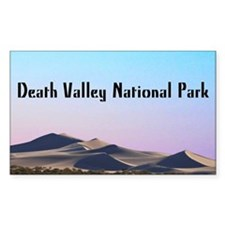 Death Valley Dunes Decal