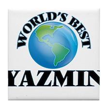 World's Best Yazmin Tile Coaster