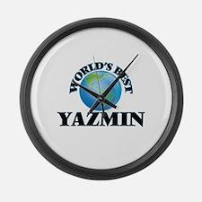 World's Best Yazmin Large Wall Clock