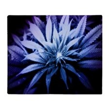 Blue Kush Throw Blanket