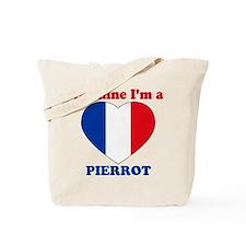 Pierrot, Valentine's Day Tote Bag
