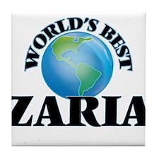 World's Best Zaria Tile Coaster