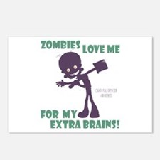 Zombies Love Me III Postcards (Package of 8)