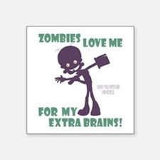 Zombies Love Me III Sticker