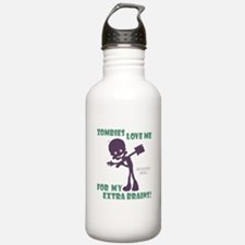 Zombies Love Me III Water Bottle