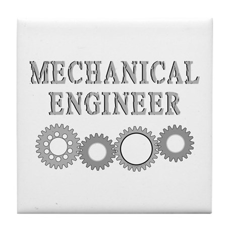 Mechanical Engineer Tile Coaster