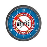DRO No Whining Wall Clock